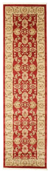 Ziegler Kaspin - Röd Matta 80X300 Orientalisk Hallmatta Mörkbeige/Roströd ( Turkiet)