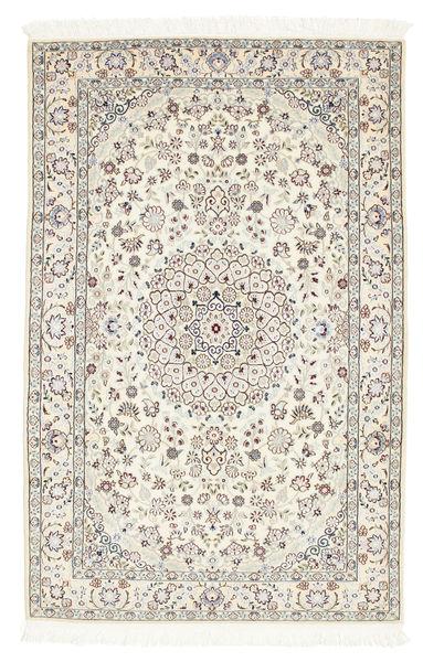 Nain 6La Matta 101X157 Äkta Orientalisk Handknuten Beige/Ljusgrå (Ull/Silke, Persien/Iran)