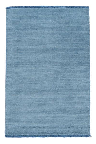 Handloom Fringes - Ljusblå Matta 200X300 Modern Ljusblå (Ull, Indien)