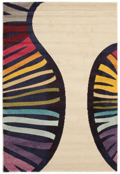 Vases Matta 160X230 Modern Beige/Svart ( Turkiet)