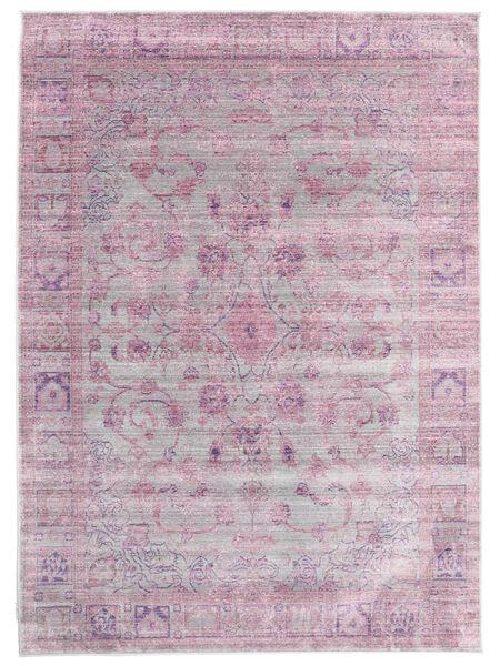 Maharani - Grå/Rosa Matta 140X200 Modern Ljusrosa/Ljuslila ( Turkiet)