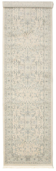Ziegler Manhattan Matta 80X300 Orientalisk Hallmatta Mörkbeige/Ljusgrå ( Turkiet)