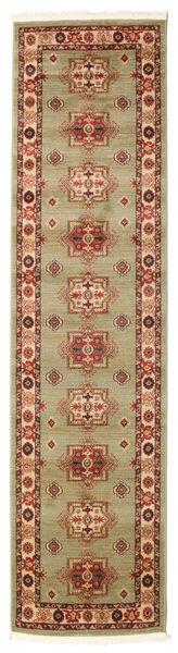 Marivan Kazak Matta 80X300 Orientalisk Hallmatta Brun/Mörkröd ( Turkiet)