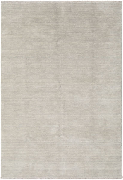 Handloom Fringes - Greige Matta 160X230 Modern Ljusgrå (Ull, Indien)