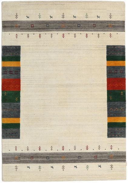 Loribaf Loom Designer - Beige Matta 160X230 Modern Beige/Mörkbeige (Ull, Indien)