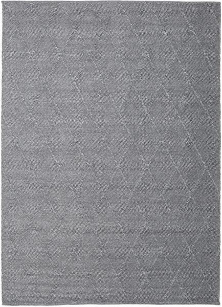 Svea - Kolgrå Matta 200X300 Äkta Modern Handvävd Ljusgrå/Mörkgrå (Ull, Indien)