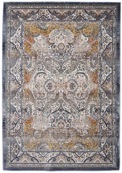 Minna - Guld Matta 118X176 Modern Ljusgrå/Mörkgrå ( Turkiet)