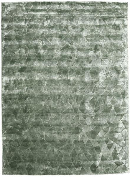 Crystal - Frostgrön Matta 210X290 Modern Turkosblå/Mörkgrå ( Indien)