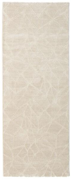Patio - Cream Matta 100X250 Modern Hallmatta Ljusgrå/Beige ( Turkiet)