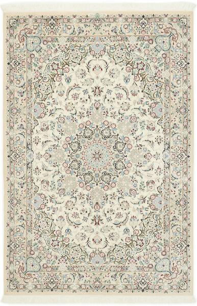 Nain 9La Sherkat Farsh Matta 140X207 Äkta Orientalisk Handknuten (Ull/Silke, Persien/Iran)