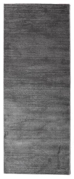 Illusion - Grå Matta 100X250 Modern Hallmatta Mörkgrå/Mörkbrun ( Turkiet)