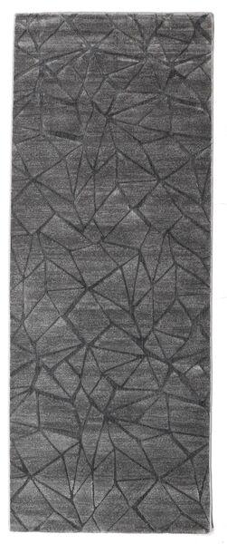 Patio - Grå Matta 100X250 Modern Hallmatta Ljusgrå/Mörkgrå ( Turkiet)