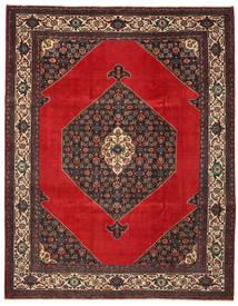 Hamadan Patina Matta 271X348 Äkta Orientalisk Handknuten Mörkbrun/Roströd Stor (Ull, Persien/Iran)