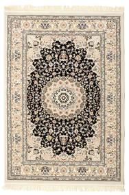 Nain Negin Matta 140X200 Orientalisk Beige/Ljusgrå ( Turkiet)