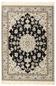 Nain Mahak Matta 140X200 Orientalisk Ljusgrå/Beige ( Turkiet)