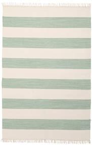 Bomull Stripe - Mint Matta 140X200 Äkta Modern Handvävd Beige/Pastellgrön (Bomull, Indien)