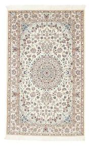 Nain 6La Matta 100X160 Äkta Orientalisk Handknuten Beige/Ljusgrå (Ull/Silke, Persien/Iran)