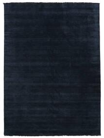 Handloom Fringes - Mörkblå Matta 200X300 Modern Mörkblå/Blå (Ull, Indien)