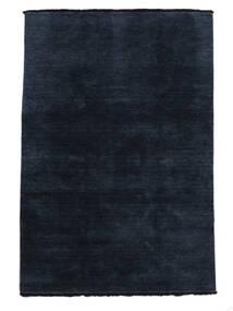 Handloom Fringes - Mörkblå Matta 160X230 Modern Mörkblå (Ull, Indien)