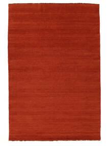 Handloom Fringes - Rost/Röd Matta 160X230 Modern Roströd/Orange (Ull, Indien)