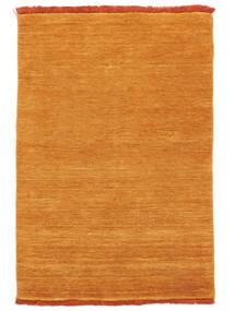 Handloom Fringes - Orange Matta 140X200 Modern Orange/Ljusbrun (Ull, Indien)