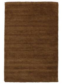 Handloom Fringes - Brun Matta 140X200 Modern Brun (Ull, Indien)