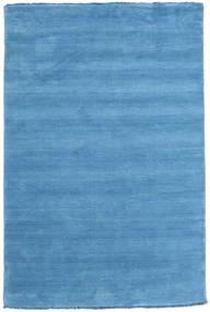 Handloom Fringes - Ljusblå Matta 120X180 Modern Ljusblå/Blå (Ull, Indien)
