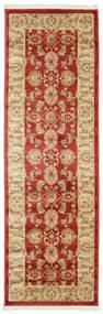 Ziegler Kaspin - Röd Matta 80X250 Orientalisk Hallmatta Mörkbeige/Roströd ( Turkiet)