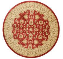 Ziegler Kaspin - Röd Matta Ø 300 Orientalisk Rund Mörkbeige/Roströd Stor ( Turkiet)
