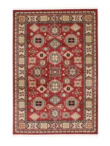 Shirvan Kazak Matta 140X200 Orientalisk Mörkröd/Mörkbrun ( Turkiet)