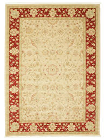 Farahan Ziegler - Beige/Röd Matta 200X300 Orientalisk Beige/Röd ( Turkiet)