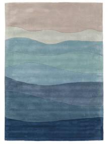 Feeling Handtufted - Blå Matta 160X230 Modern Ljusblå/Ljusgrå/Blå (Ull, Indien)