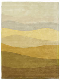 Feeling Handtufted - Brun Matta 160X230 Modern Mörkbeige/Olivgrön (Ull, Indien)