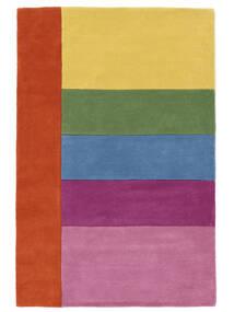 Colors By Meja Handtufted Matta 120X180 Modern Ljusrosa/Gul (Ull, Indien)