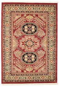Kazak Mirvan Matta 140X200 Orientalisk Mörkröd/Mörkbrun ( Turkiet)