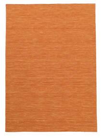 Kelim Loom - Orange Matta 160X230 Äkta Modern Handvävd Orange (Ull, Indien)