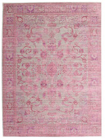 Maharani - Grå/Rosa Matta 160X230 Modern Ljusrosa/Ljuslila ( Turkiet)