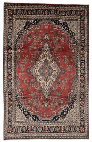 Hamadan Shahrbaf Patina Matta 208X328 Äkta Orientalisk Handknuten Ljusbrun/Röd (Ull, Persien/Iran)
