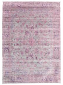 Maharani - Grå/Rosa Matta 200X300 Modern Ljusrosa/Ljusgrå ( Turkiet)