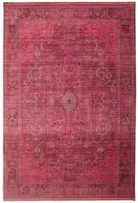 Maharani - Röd Matta 200X300 Modern Mörkröd/Roströd ( Turkiet)