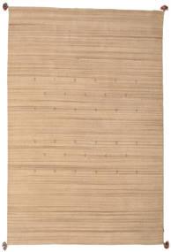 Loribaf Loom Matta 193X292 Äkta Modern Handknuten Mörkbeige/Beige (Ull, Indien)