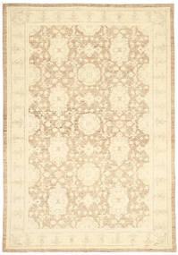 Ziegler Ariana Matta 181X261 Äkta Orientalisk Handknuten Beige/Mörkbeige (Ull, Afghanistan)
