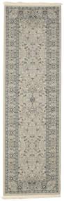 Ziegler Michigan - Grön/Beige Matta 80X250 Orientalisk Hallmatta Ljusgrå/Vit/Cremefärgad ( Turkiet)
