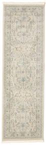 Ziegler Manhattan Matta 80X250 Orientalisk Hallmatta Ljusgrå/Mörkbeige ( Turkiet)