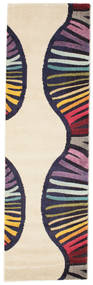 Vases Matta 80X250 Modern Hallmatta Beige/Mörklila ( Turkiet)