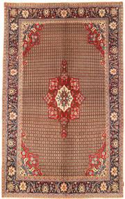 Koliai Matta 198X323 Äkta Orientalisk Handknuten Mörkbrun/Mörkröd (Ull, Persien/Iran)