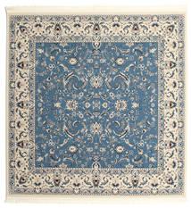 Nain Florentine - Ljusblå Matta 250X250 Orientalisk Kvadratisk Blå/Ljusgrå/Beige Stor ( Turkiet)
