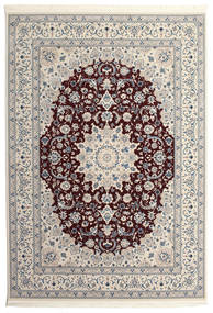 Nain Emilia - Mörkröd Matta 300X400 Orientalisk Ljusgrå/Beige/Mörkbrun Stor ( Turkiet)