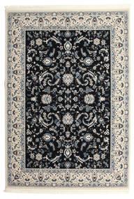 Nain Florentine - Mörkblå Matta 300X400 Orientalisk Ljusgrå/Beige/Svart Stor ( Turkiet)