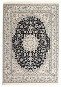 Nain Emilia - Mörkblå Matta 300X400 Orientalisk Ljusgrå/Beige Stor ( Turkiet)